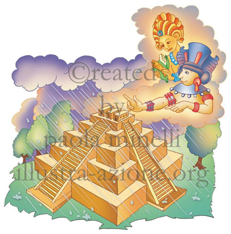 leggende maya created by paola minelli