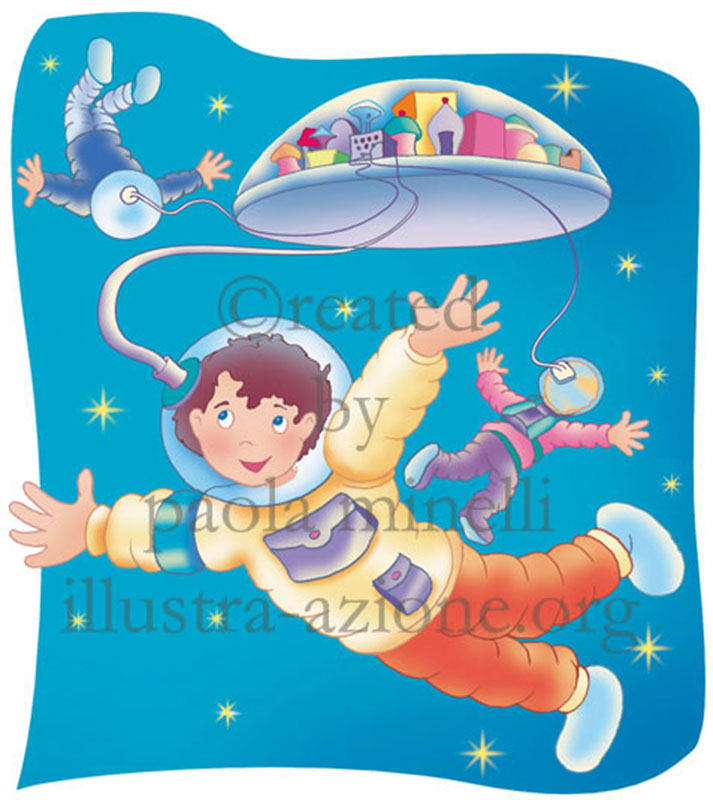 bimbi fantascienza - child science fiction