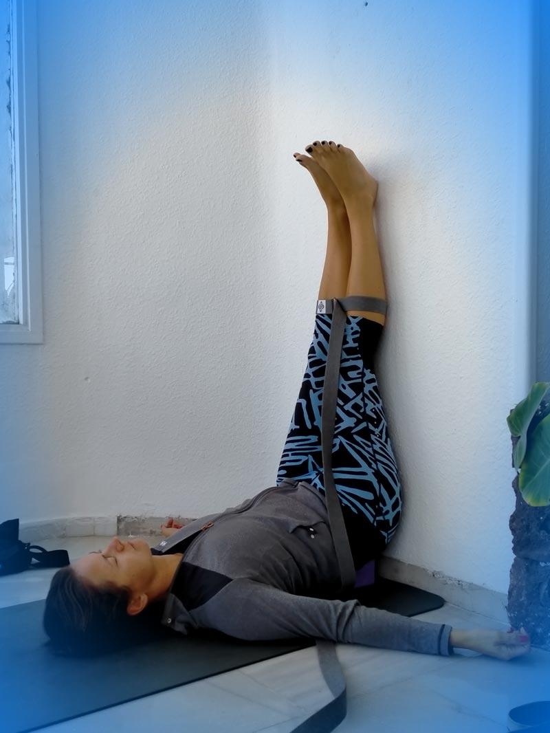Yoga4freedom_Viparita-Karani-Wall-Silvija_PlayaParaiso-classes