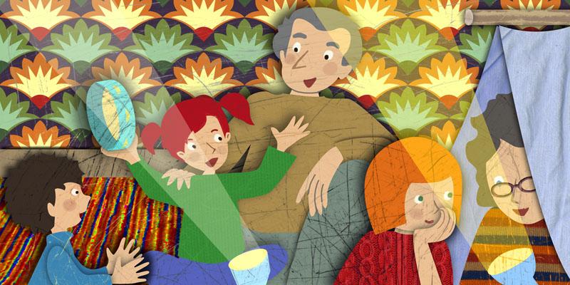 giochi coi nonni - campeggio in casa