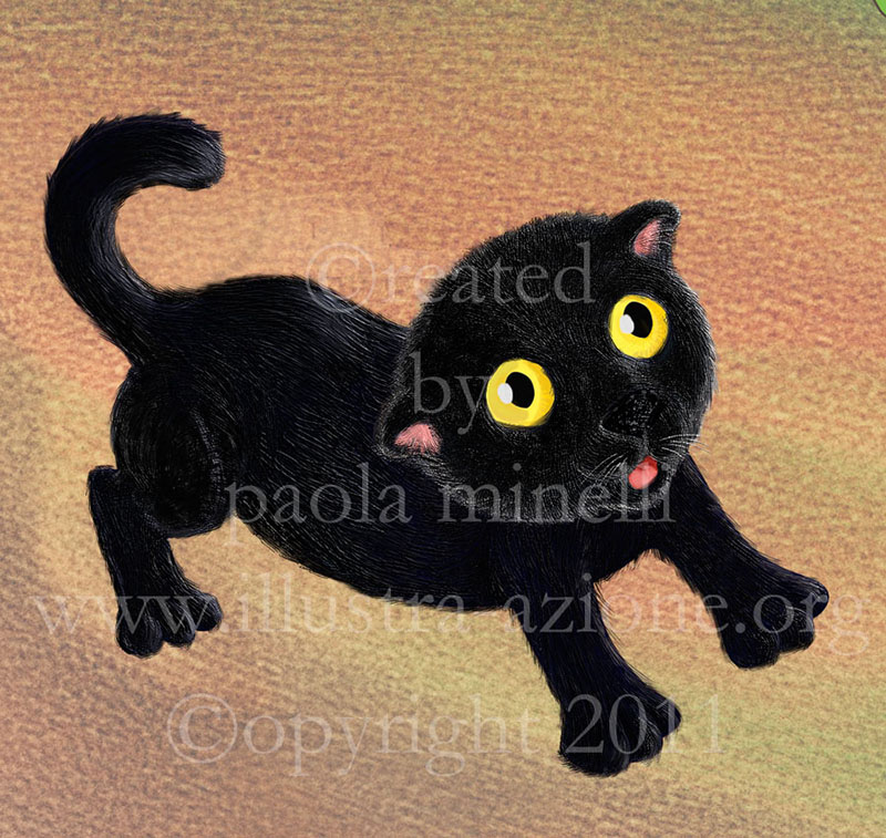 Paola Minelli illustrator - Cagliostro da piccolo