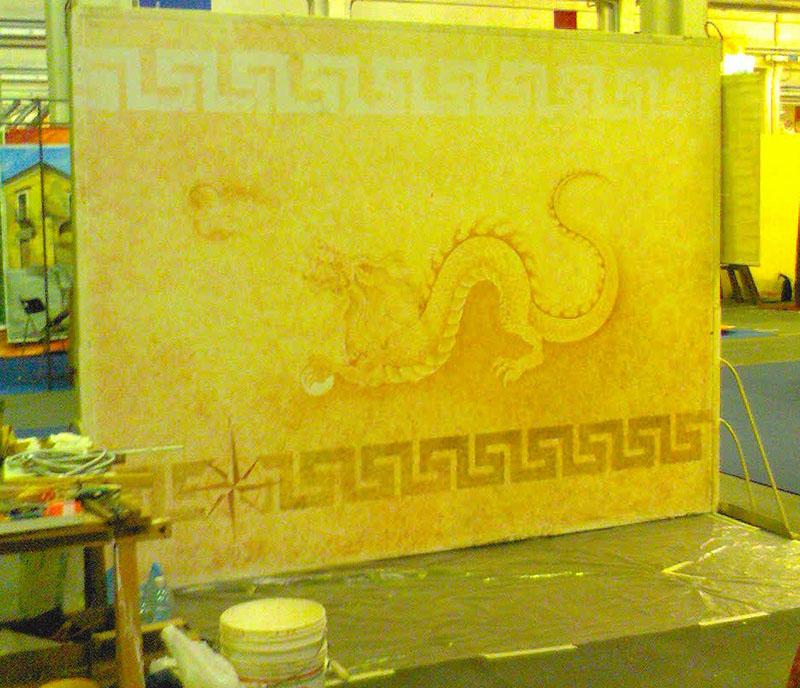 restructura-murales drago-pannello vista