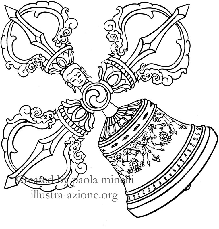 vajra-bell (illustration)