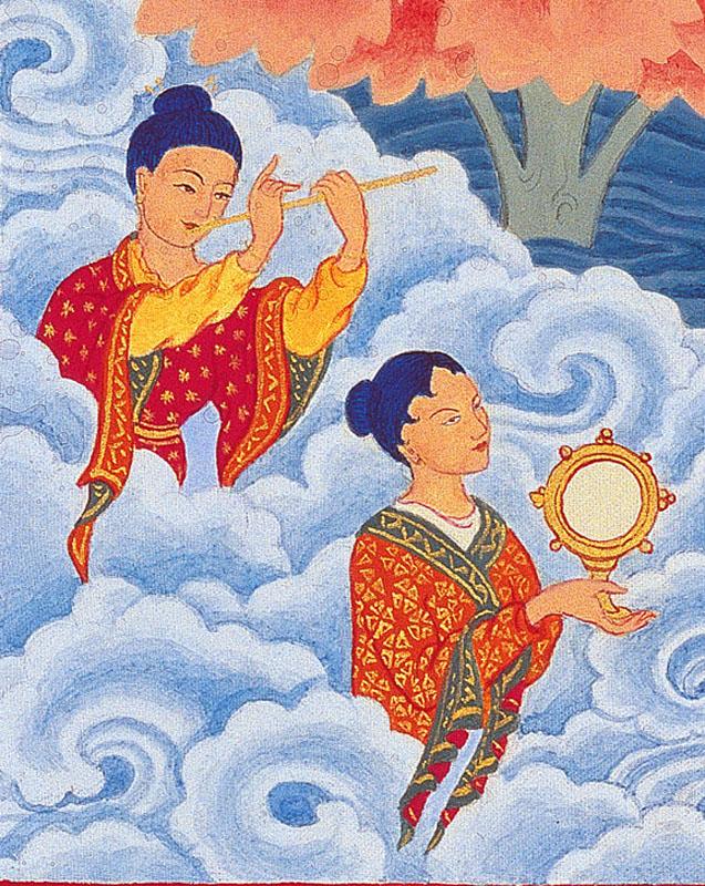 padmasambhava - magification
